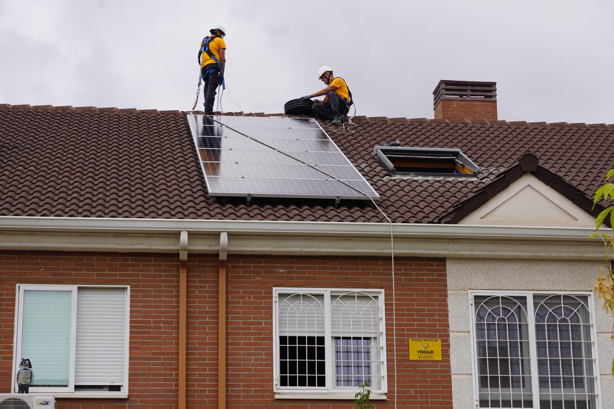 Instalación placas solares Alcalá de henares